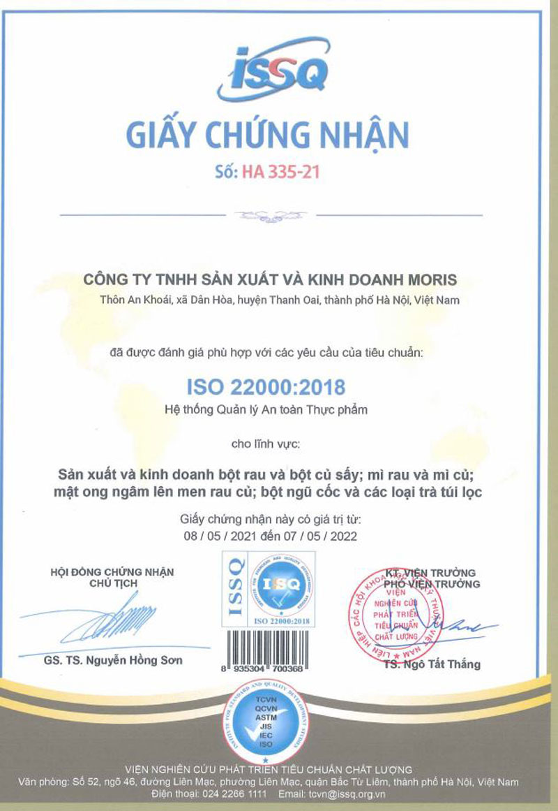 ISO22000:2018